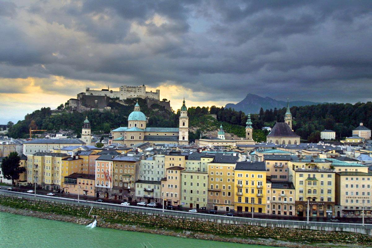 Popular sights in Salzburg